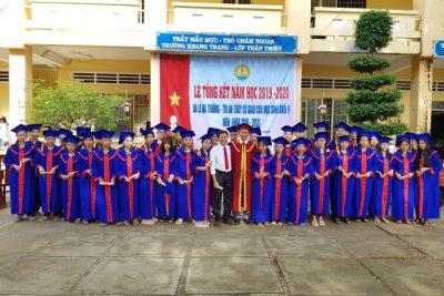 Danh sách học sinh trúng tuyển lớp 10 Trường THPT Thạnh Đông